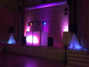 DJ David Cardosa's DJ set up.
