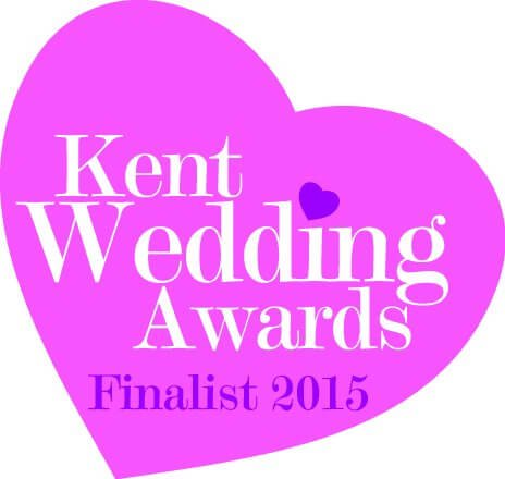 Finalist for the Kent Wedding Awards 2015