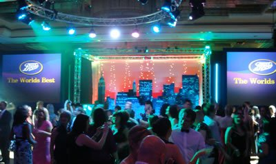 DJs, Discos, Sound Systems and Lighting for Corporate Events