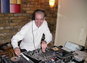 DJ Lawrence Anthony performing at a Birthday Party in London