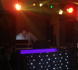 DJ Michael Davis with Mobile Disco for hire in London