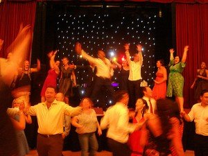 Wedding DJ and Wedding Disco Hire for a Civil Partnership in London