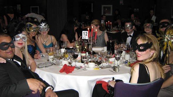 DJ Wayne Smooth plays at Great Ormand Street Hospital Masquerade Ball in London