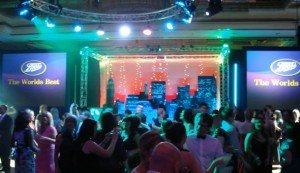 Corporate DJ and Disco Hire for Corporate Event - Boots Annual Dinner Dance