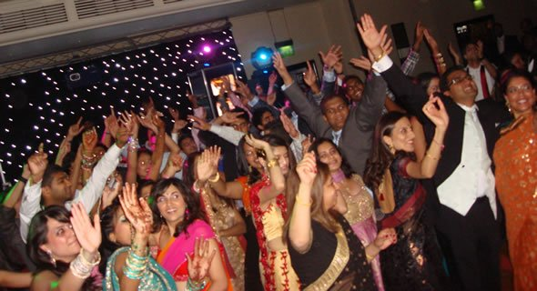 Indian Wedding DJ and Disco Hire for Weddings in London