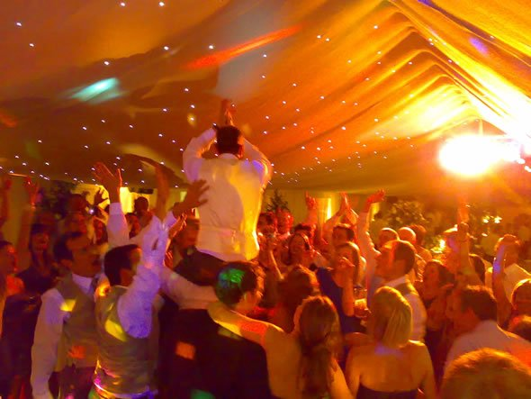 Wedding Disco DJ Hire for Weddings in Surrey