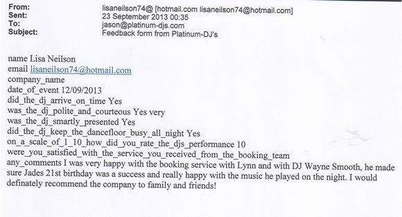 21st Birthday Party DJ and Disco Hire London - DJ Wayne Smooth