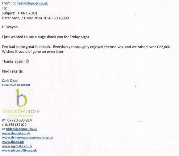 Charity Event DJ and Disco London - DJ Wayne Smooth 140405