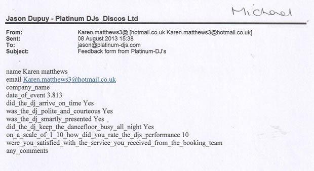DJ Disco Review - 18 and 50 Birthday Party - Kingston Surrey - DJ Michael Davis