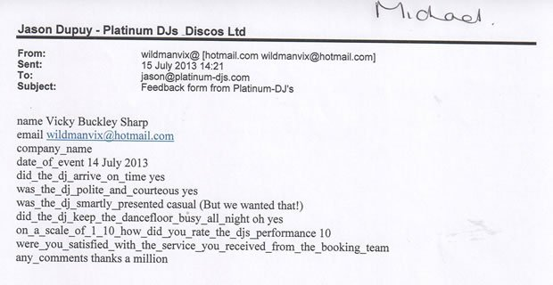 DJ Disco Review - Childrens Party - Putney London - DJ Michael Davis