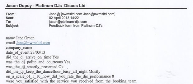 DJ Disco Review - House Party - London - DJ Michael Davis