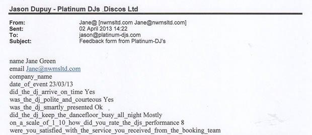 DJ Disco Review - House Party - London - DJ Michael Davis