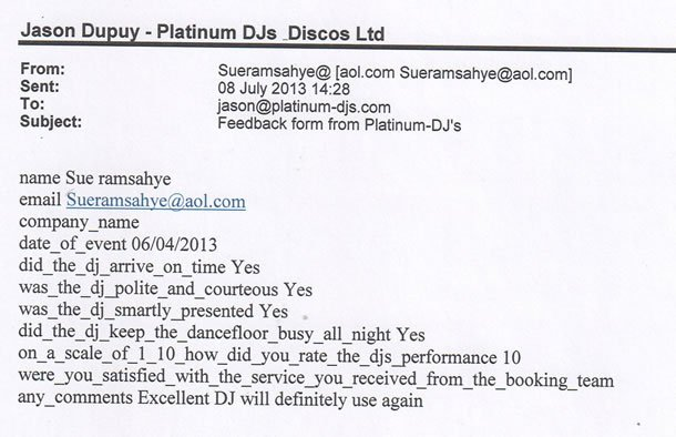 DJ Disco Review - Mauritian Birthday Party 2 - Essex - DJ Murdoch Wilson