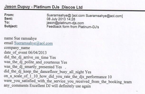 DJ Disco Review - Mauritian Birthday Party 2 - Essex - DJ Murdoch Wilson