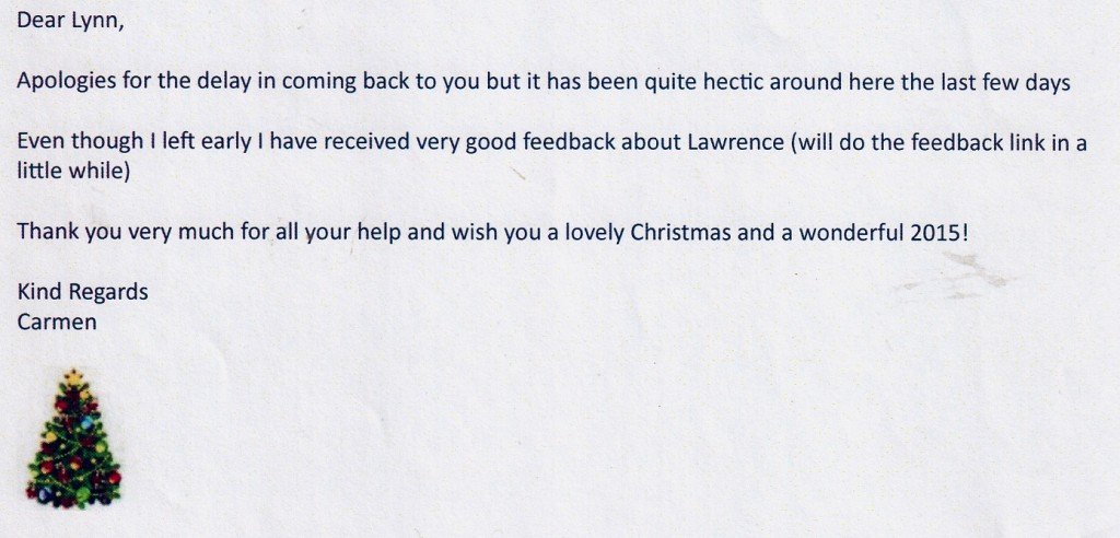 DJ Lawrence Review Christmas Party