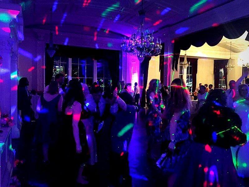 At Trafalgar Tavern in Greenwich with DJ Murdoch Wilson performing at a Wedding.