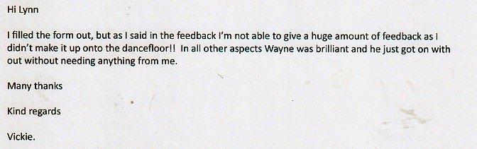 DJ Review for DJ Wayne Smooth VIckie