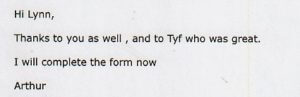 Good review for DJ Tyf performing at a Wedding.