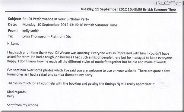 DJ Wayne Smooth - Birthday Party Disco 120908 (2)