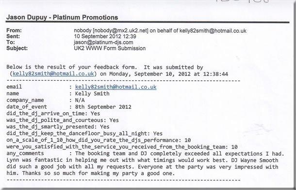 DJ Wayne Smooth - Birthday Party Disco London 120908