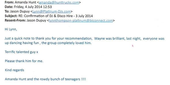 DJ and Disco Hire for 18 Birthday Party West Drayton Middx