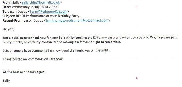 DJ and Disco Hire for Birthday Party Bromley Kent