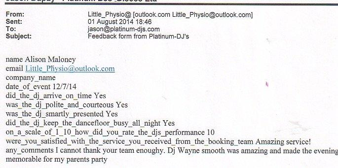 Hire DJ Wayne London 2