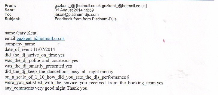 Mobile DJ and Disco with DJ Michael Davis at a party