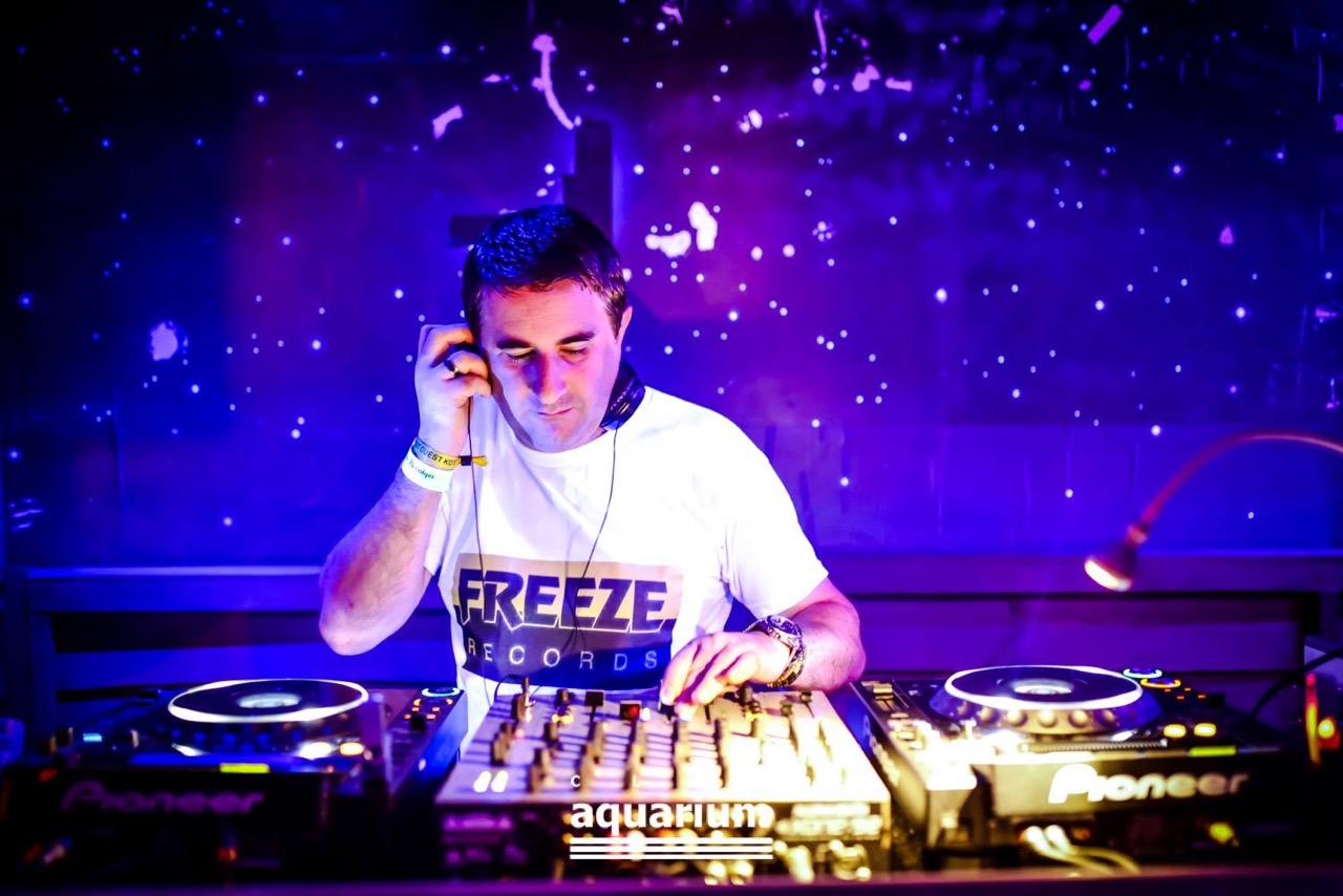 Resident DJ at Aquarium is Platinum's DJ Ray Reef.