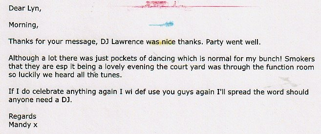Review DJ Lawrence Mandy