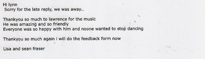 DJ Lawrence review for Platinum DJs