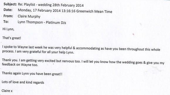 Wedding DJ and Disco Hire Surrey - DJ Wayne Smooth 140228