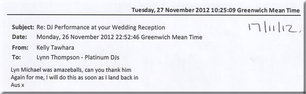 Wedding London DJ & Disco - DJ Michael Davis 121117