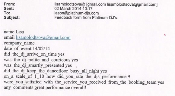 18 Birthday Party DJ and Disco Hire London Mayfair - DJ Jason Dupuy 140214