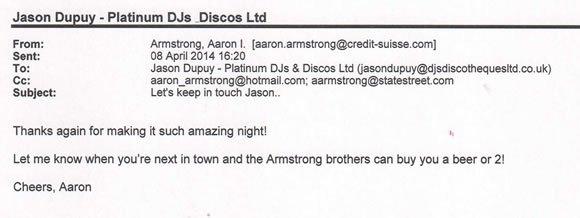 40 Birthday Party DJ PA Lighting London West End - DJ Jason Dupuy 140405
