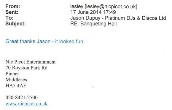 Corporate DJ Disco Hire London - DJ Jason Dupuy - Platinum DJs