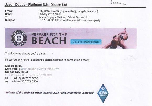 DJ Jason Dupuy - DJ Supplier 5 Star Hotel Chain London