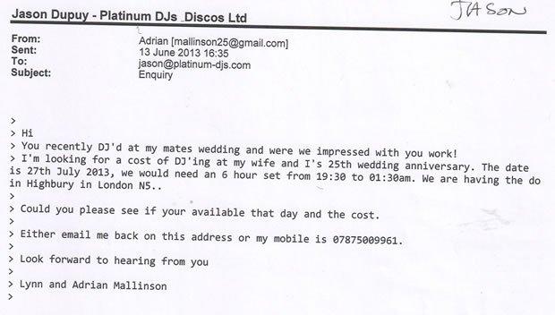 DJ Jason Dupuy - Indie Wedding DJ and Disco London