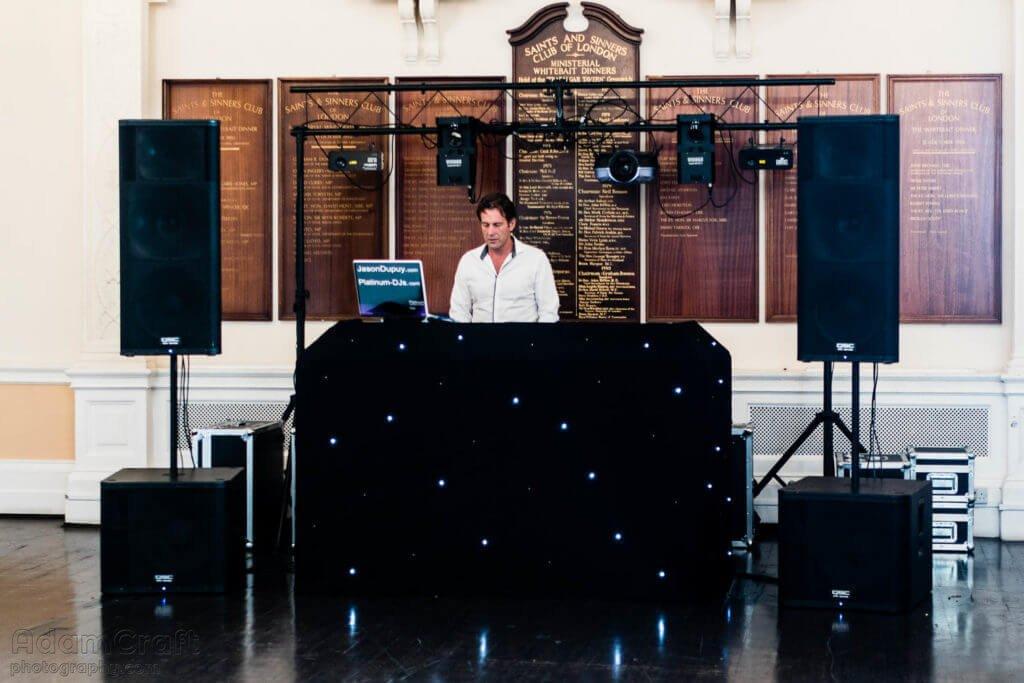 At Trafalgar Tavern with DJ Jason Dupuy