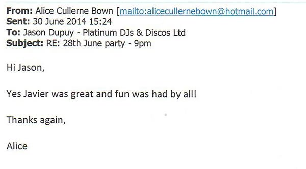 DJ and Disco Hire - SE London - Birthday Party - Javier Lobez