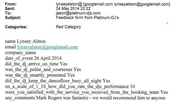 Wedding DJs in Kent - DJ Mark Rogers - Disco Hire Maidstone Kent