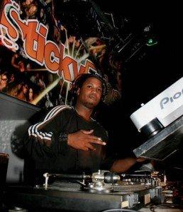 Garage DJ Jay Turner performing in London at a Club