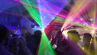 Hire DJ with stunning laser show and amazing disco