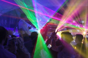 Perfect party DJ with top of the range sound systems and stunning lightshows!