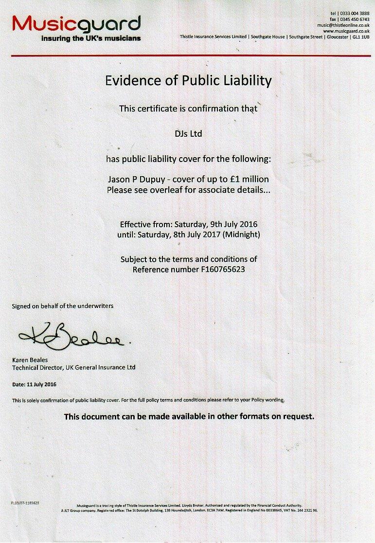 Public Liability Insurance Ireland