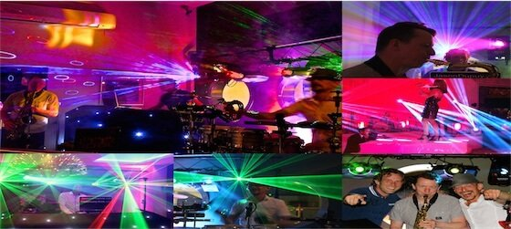 For Weddings and Events we present Platinum DJ Liveshow. DJ, Drums, Sax and Violin come together in an unique show.