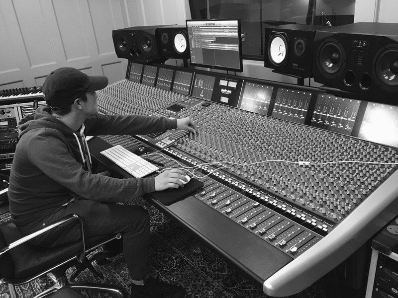 Music producer DJ Robbie