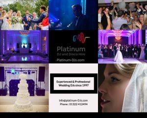 Since 1997 Platinum DJs has been the preferred Wedding DJ supplier.