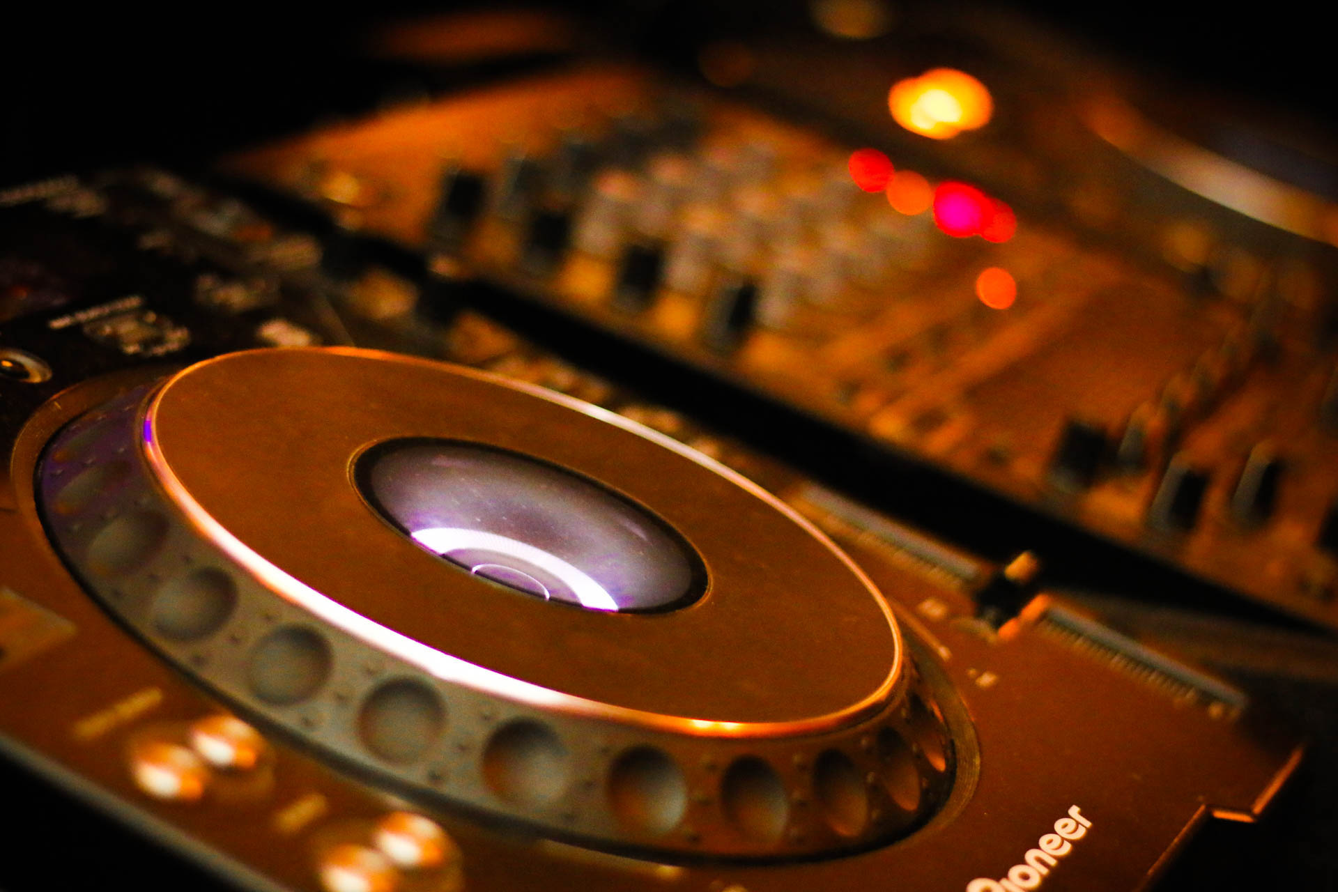 DJ decks for Jason Dupuy used at a Corporate Event in London.