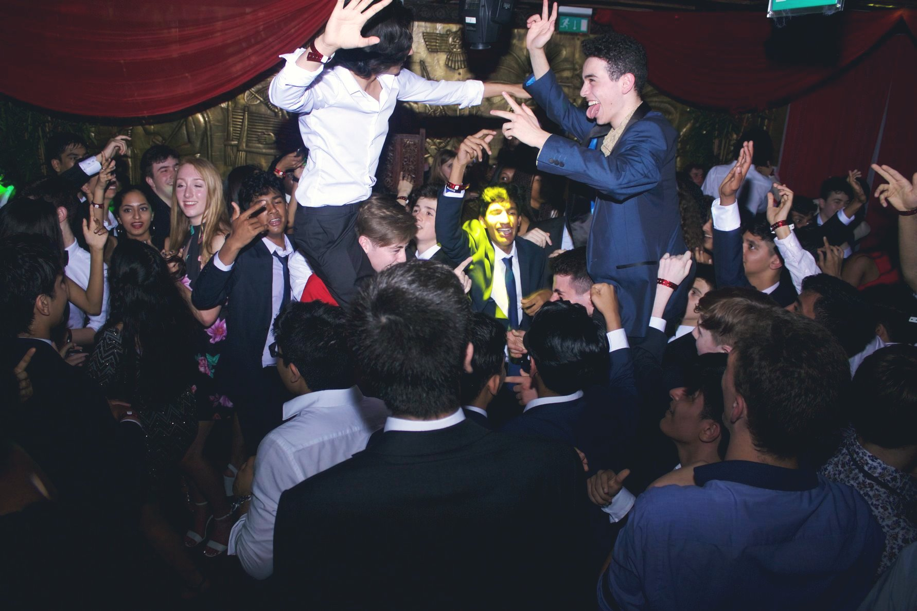 Everyone enjoyed DJ Jason Dupuy's performance at a Prom in Camden.